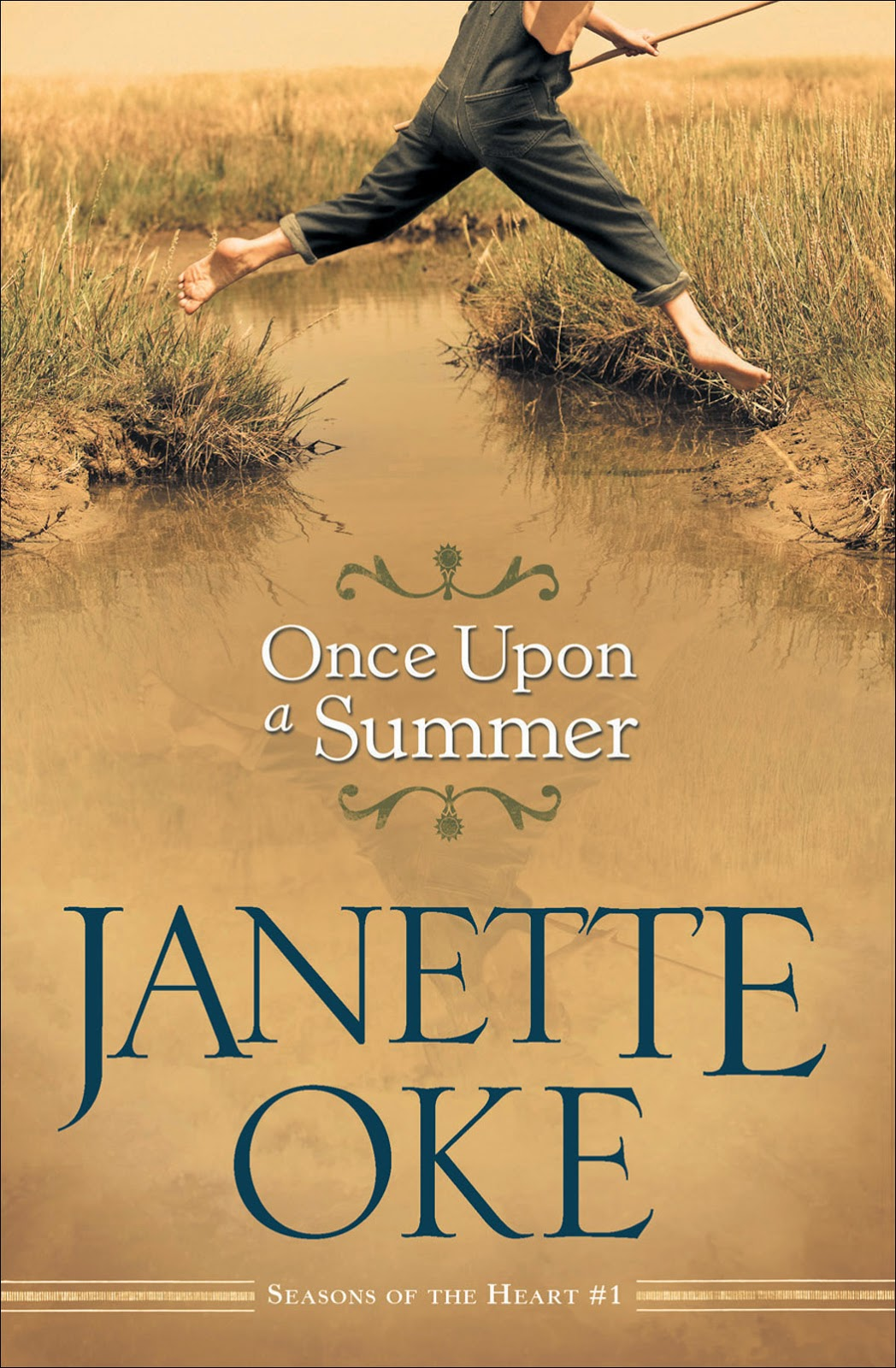 Once Upon a Summer written by Janette Oke Review by Sarah and published on Sarah's Reviews