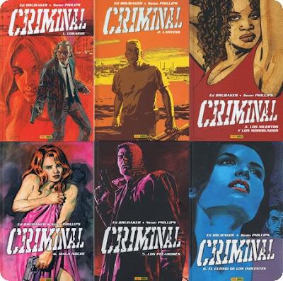 Criminal Cómic, 6 Números, Español, Cbr