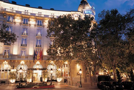 Hoteles de lujo hoteles centro madrid for Hoteles de lujo fotos