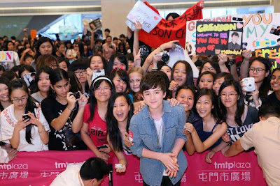Greyson Chance in Hong Kong - April 2012