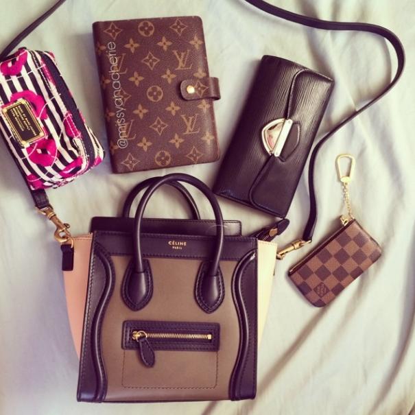 celine handbags on sale - a stroke of fabulosity: ? celine tricolor nano ?