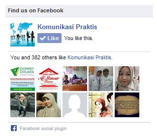 Cara Pasang Facebook Like Box Responsive