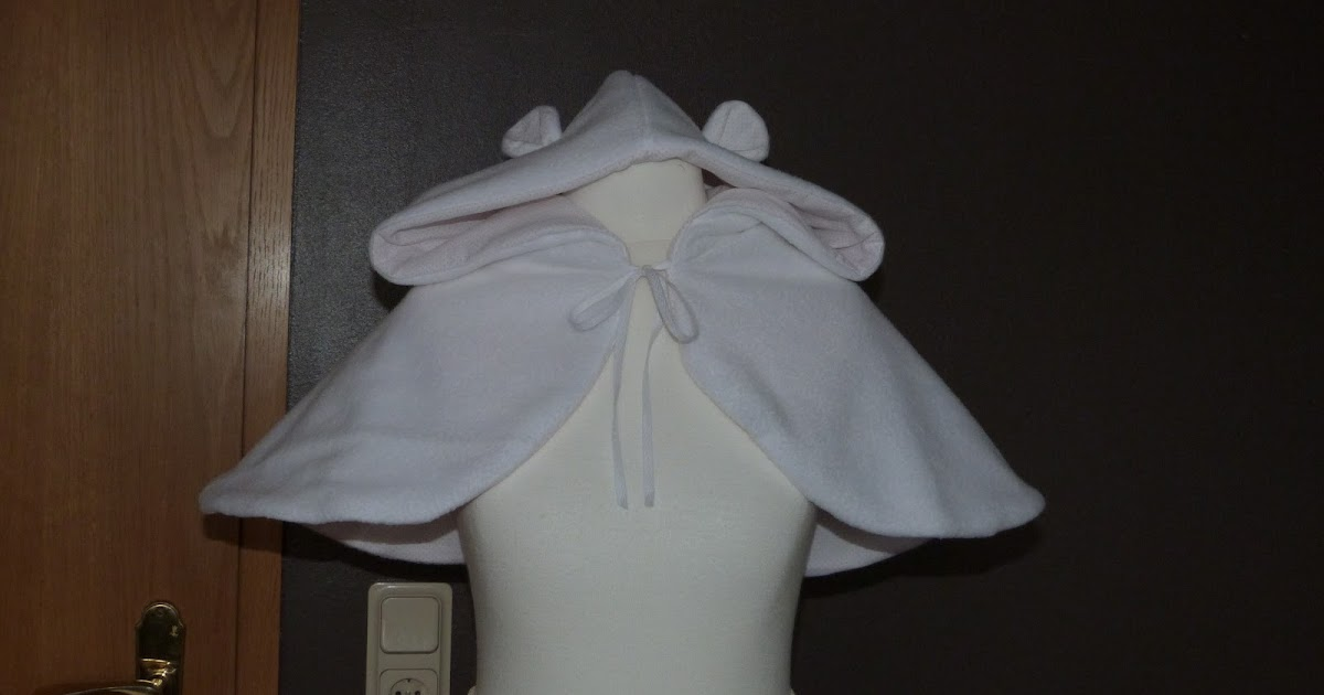 yulivee fashion kurzes cape mit kapuze. Black Bedroom Furniture Sets. Home Design Ideas
