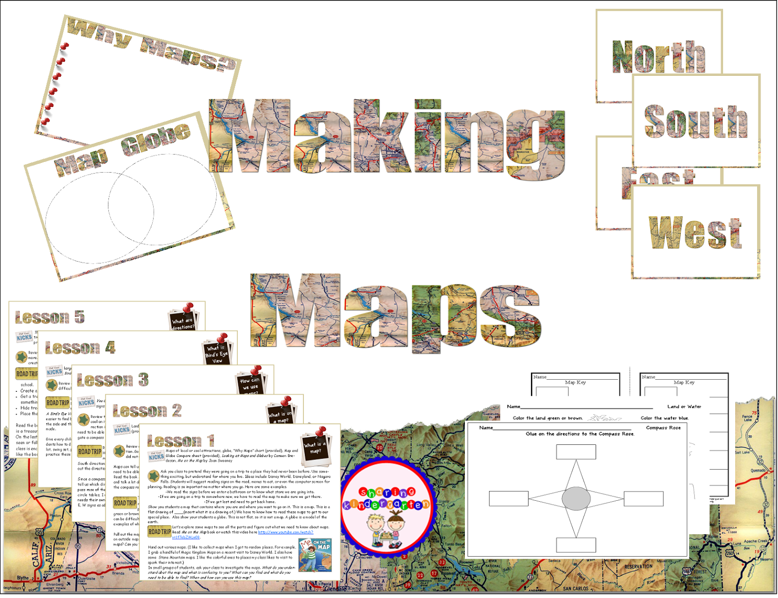 https://www.teacherspayteachers.com/Product/Making-Maps-Lesson-Plans-283176