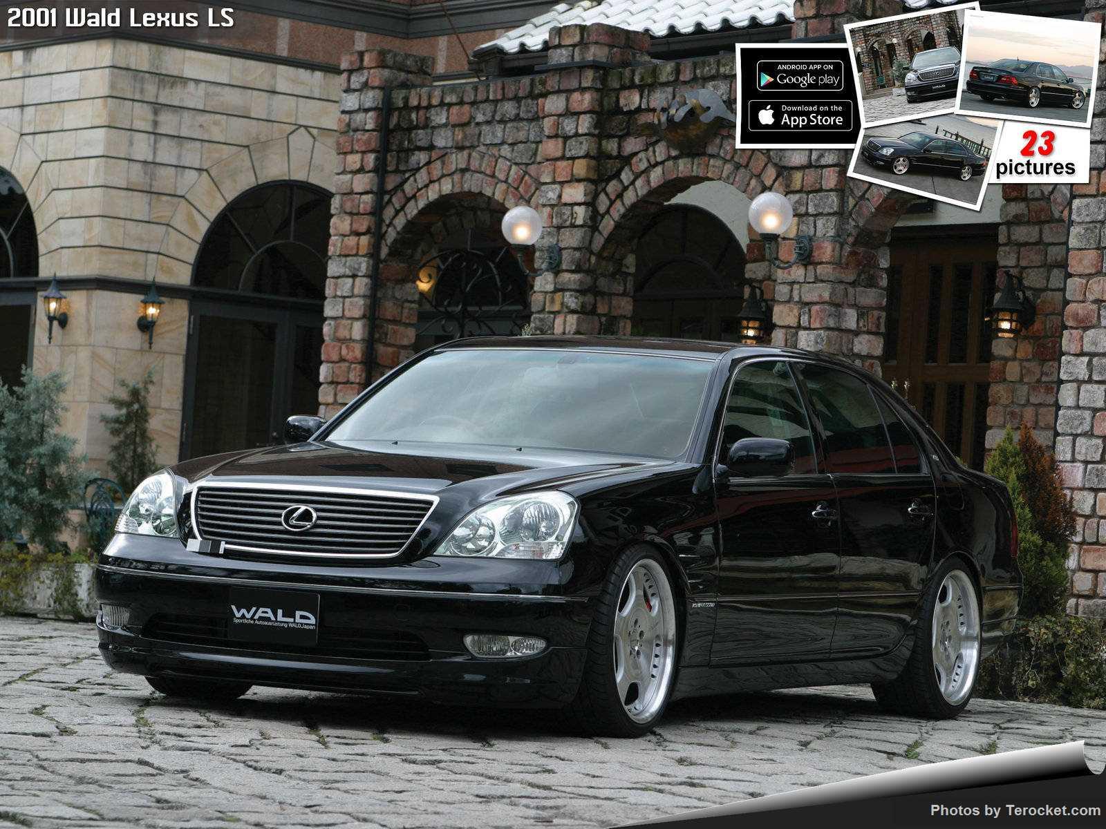 Hình ảnh xe độ Wald Lexus LS 2001 & nội ngoại thất