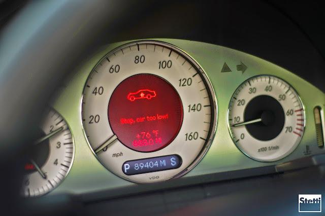 w211 speedometer