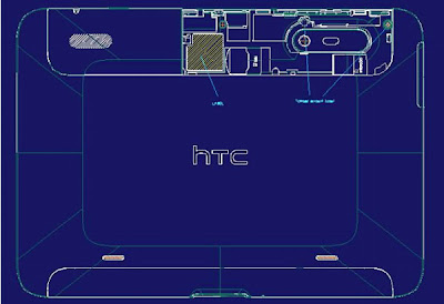 HTC Puccini Tablet Carried by AT&T