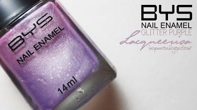Lacqueerisa: BYS Glitter Purple