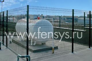 Забор металлический сварной Fensys. Фото 3