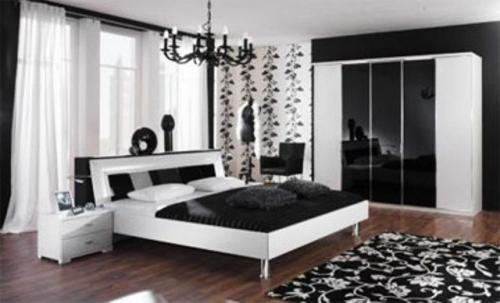 black and white bedroom accessories uk