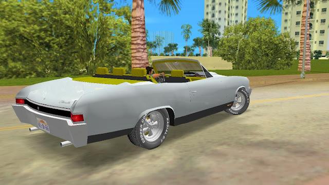 Chevrolet Chevelle SS 427 1968 GTA Vice City