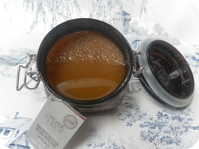 A picture of the Organic Surge Brown Sugar Body Polish