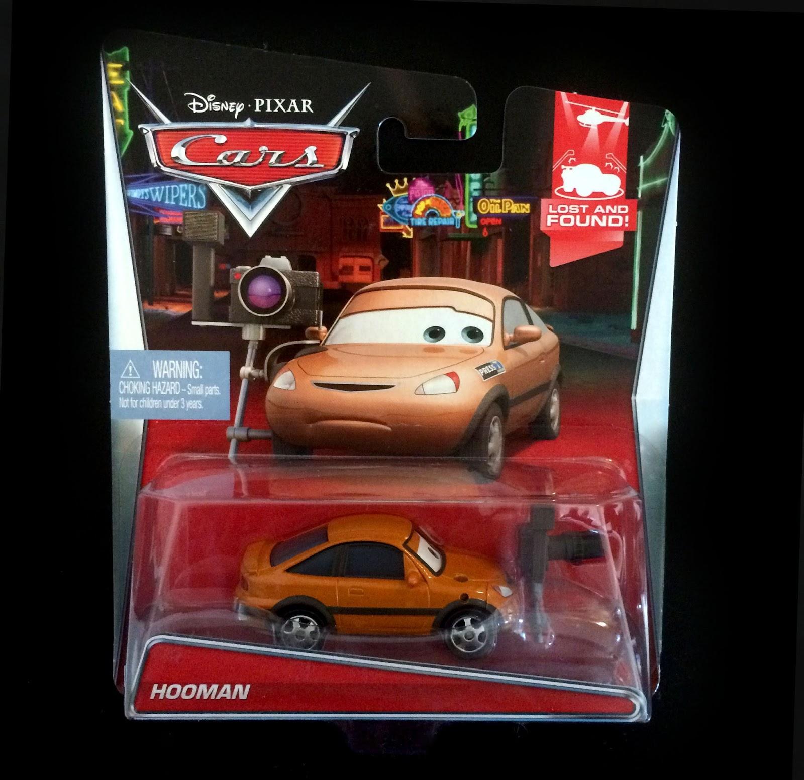 Dan the Pixar Fan: Cars: Hooman