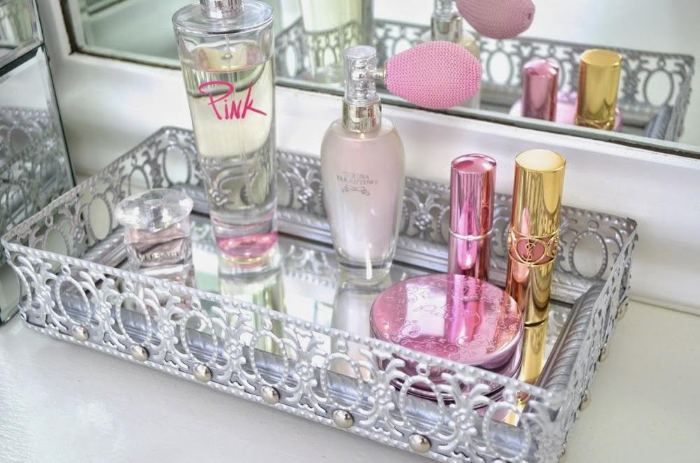 Modern Bohemian Lifestyle Diy Mirrored Vanity Tray
