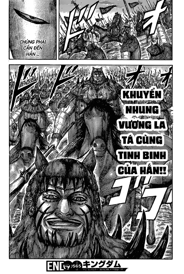 Kingdom Chapter 565 - Hamtruyen.vn