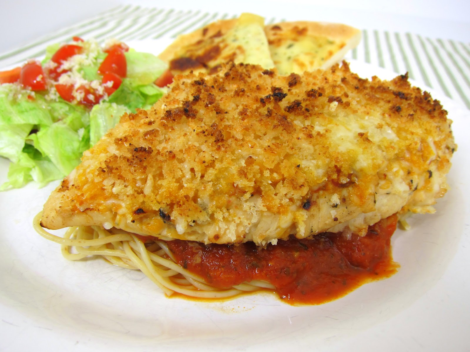 Grilled Chicken Parmesan - Plain Chicken