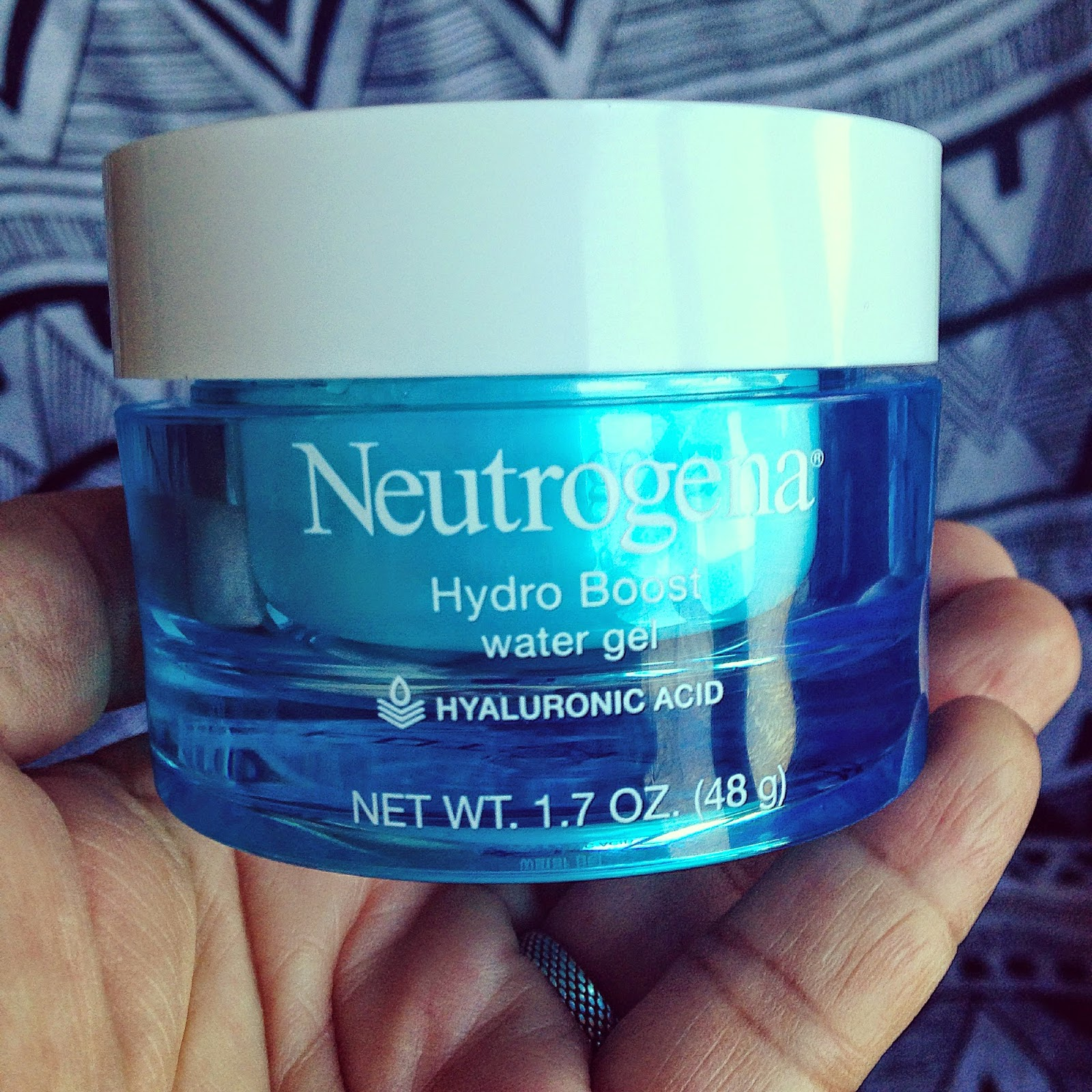 neutrogena, hydro boost, water gel, skincare, beauty, hyaluronic acid,