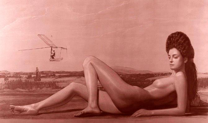 Doctor Ojiplatico. Alexey Morosov Artist. Caryatide Supersonic