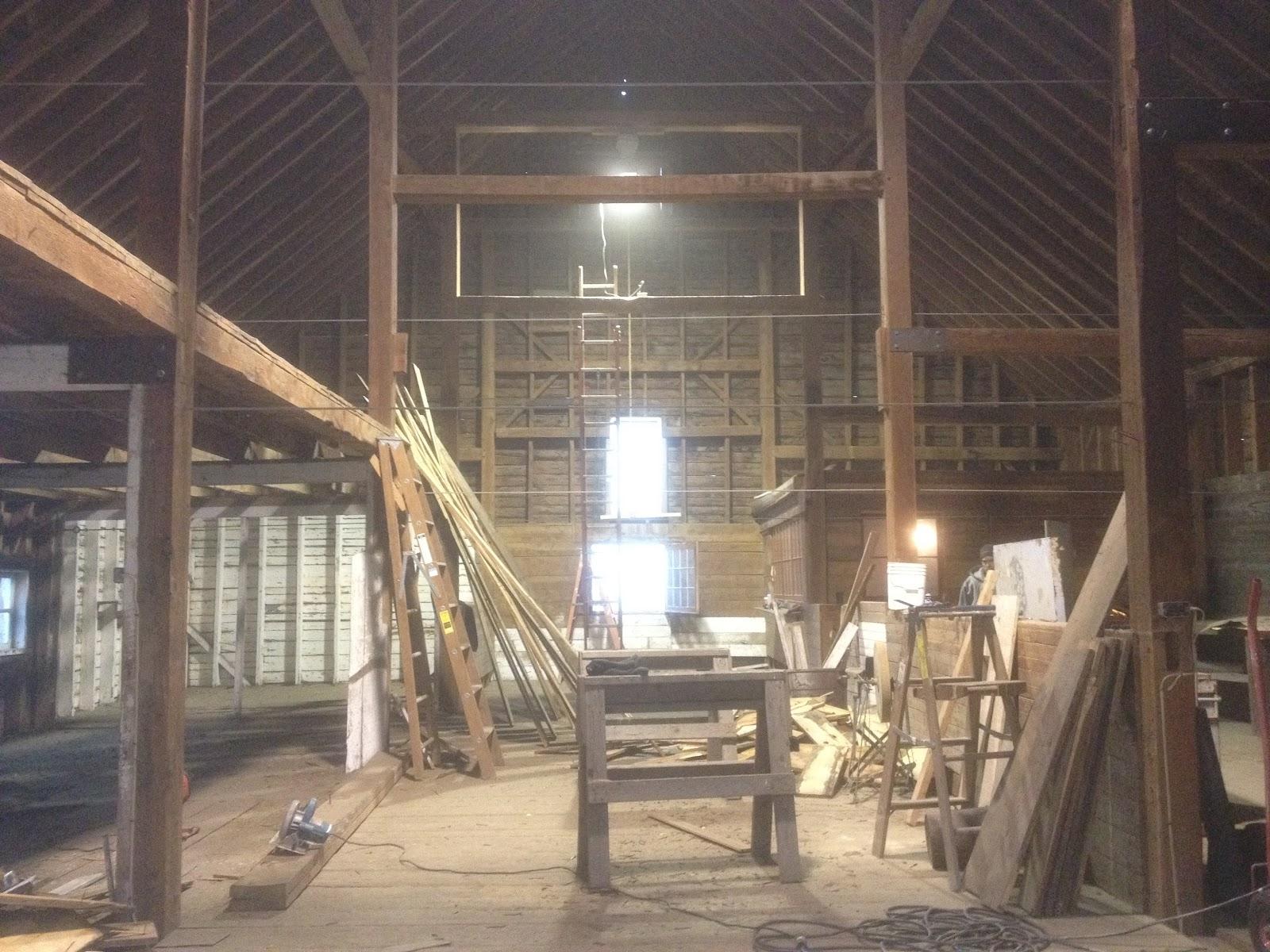 Middlebury barn renovation interior demolition and salvage for Barn renovation