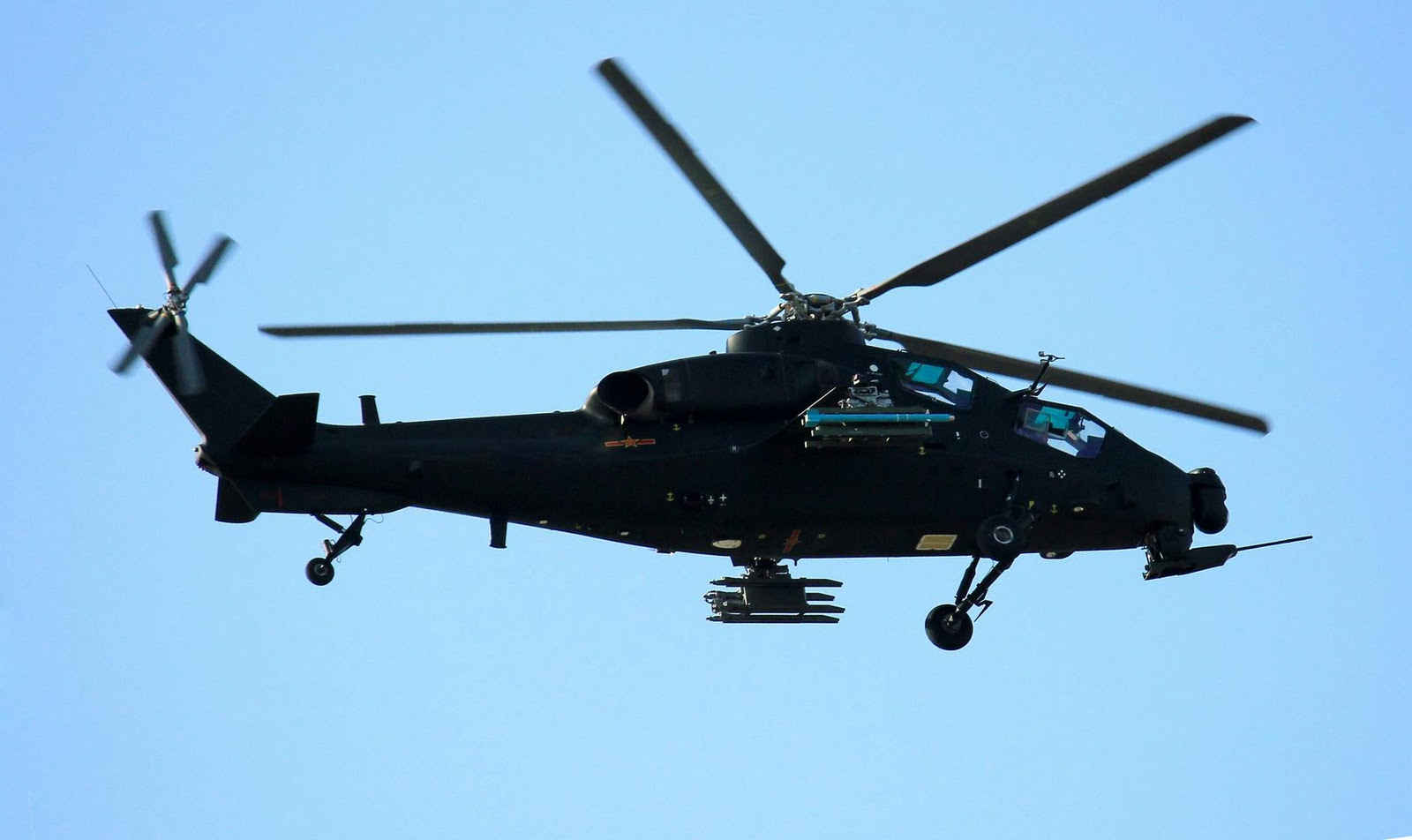Armed & Dangerous: Chinese Z-10 Attack Helicopter ...