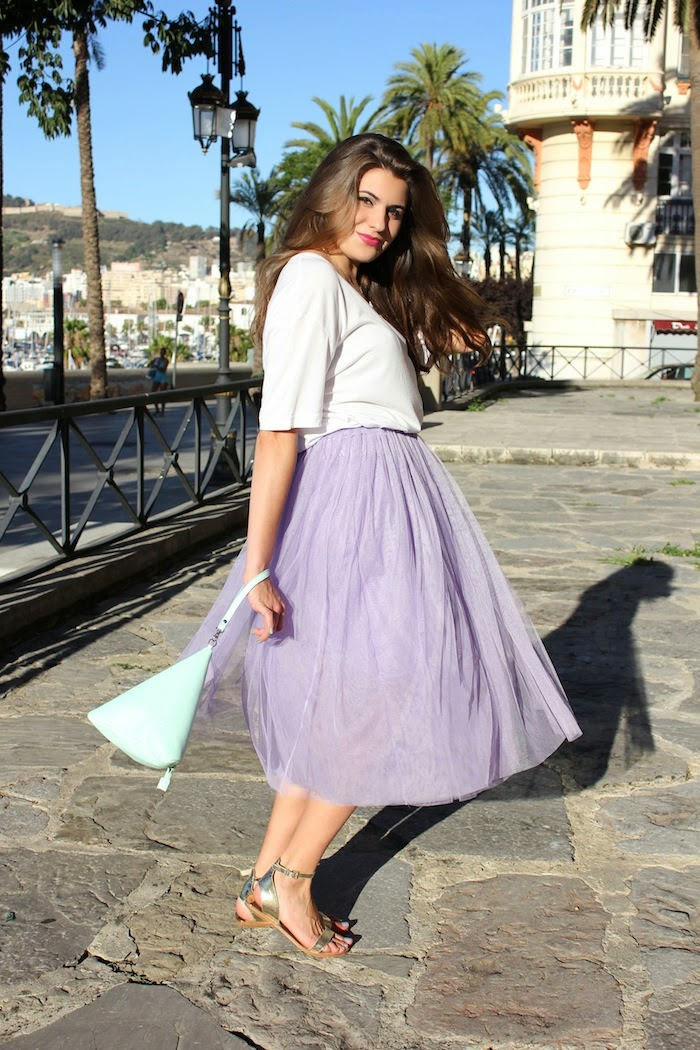 falda_midi_tul_lila_purple_skirt_look_outfit_persunmall_bolso_bag_triangulo_mint_frontrowshop_menta_angicupcakes04