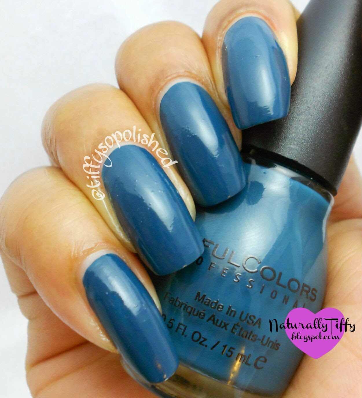 Sinful Colors: Blue Crushin Swatch | NaturallyTiffy