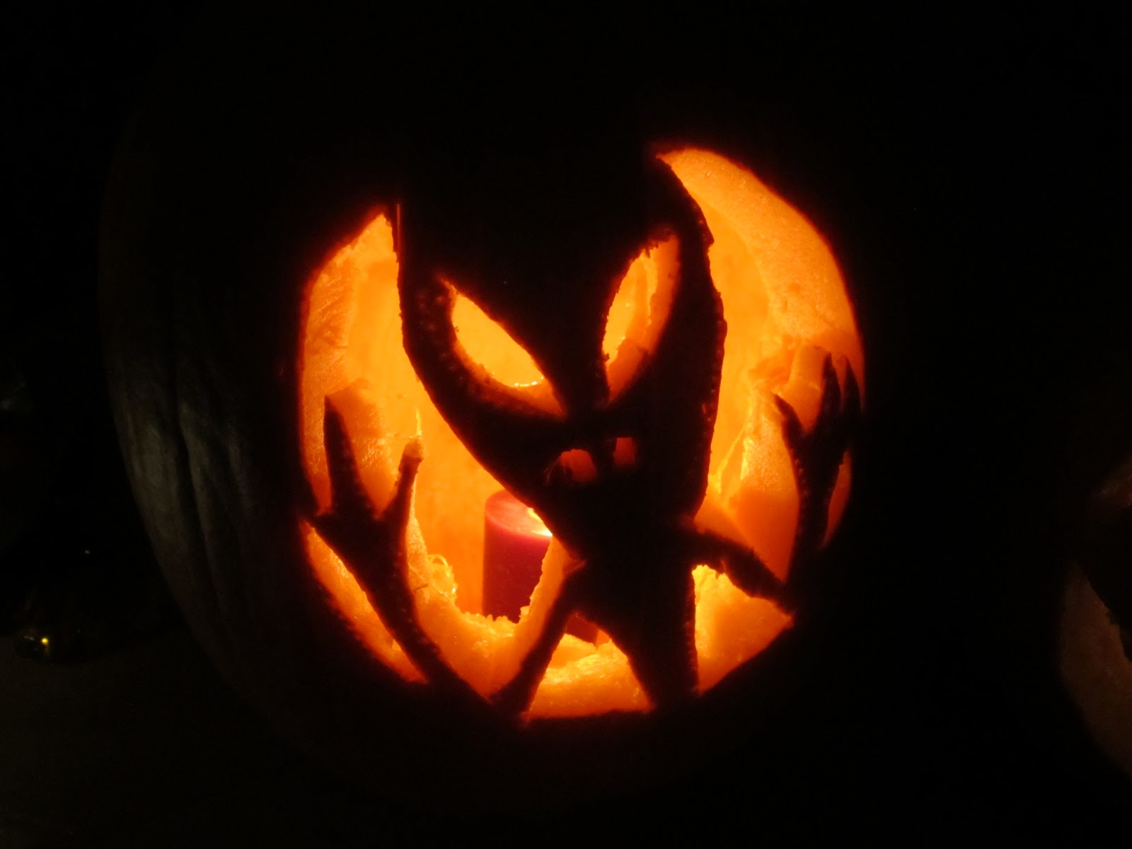 Large alien pumpkin stencils pictures to pin on pinterest