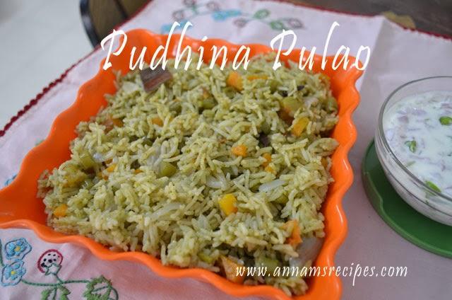 Pudhina Pulao