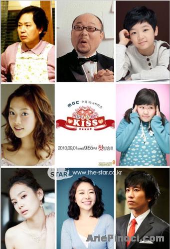 Foto Pemain Naughty Kiss Korean Drama