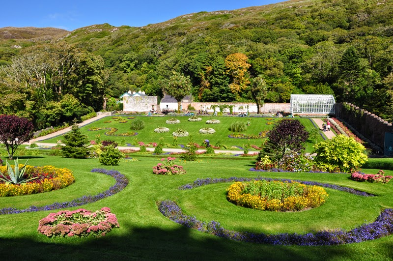 Irland 2014 - Tag 9 | Kylemore Abbey | Victorian Gardens