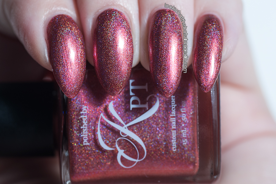 Polished by KPT Rouge-Lette In Love nail polish swatch