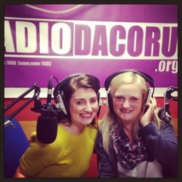 two radio hosts, The Mummy Mix, Radio Dacorum