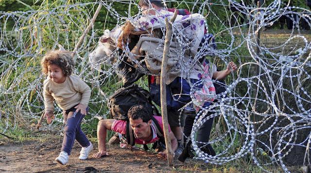Refugiados y dificultades