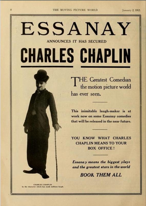 Charlie Chaplin at Essanay