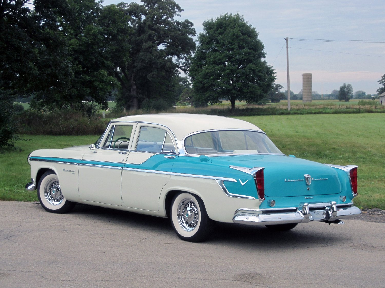 All American Classic Cars: 1955 Chrysler Windsor DeLuxe 4 ...