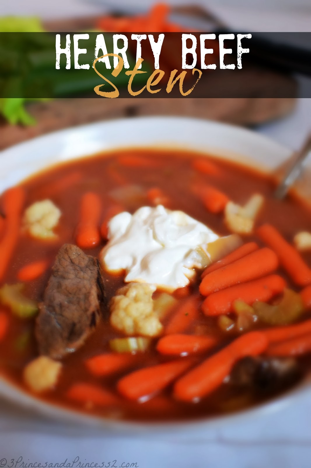 Hearty Beef Stew #RecipeRehab #Beef #MC