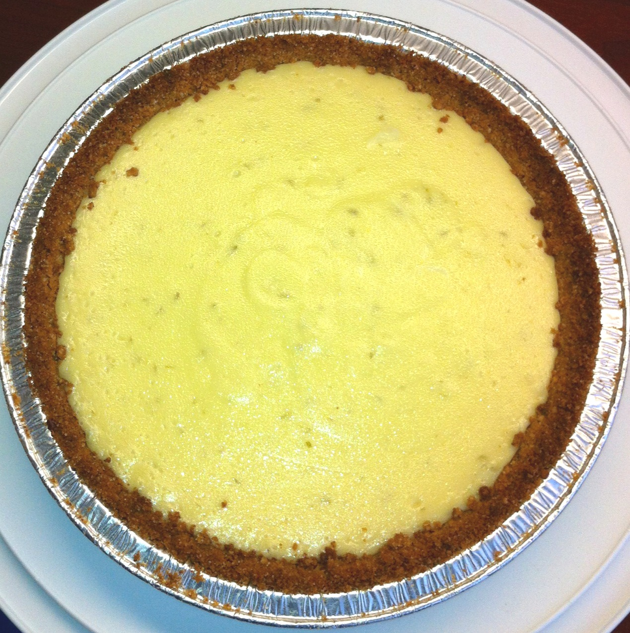 ... Bread In Texas : Key Lime Pie with Coconut-Pecan Graham Cracker Crust