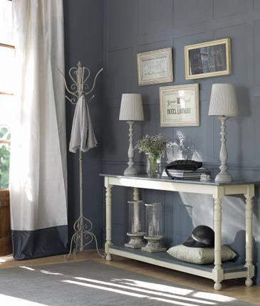 Tatiana doria grises para decorar - Pintar un recibidor ...