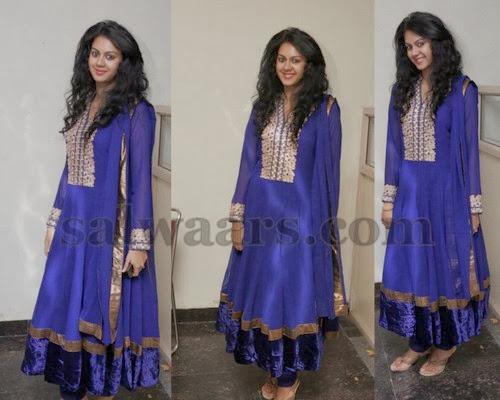 Kamna Jethmalani Blue Salwar