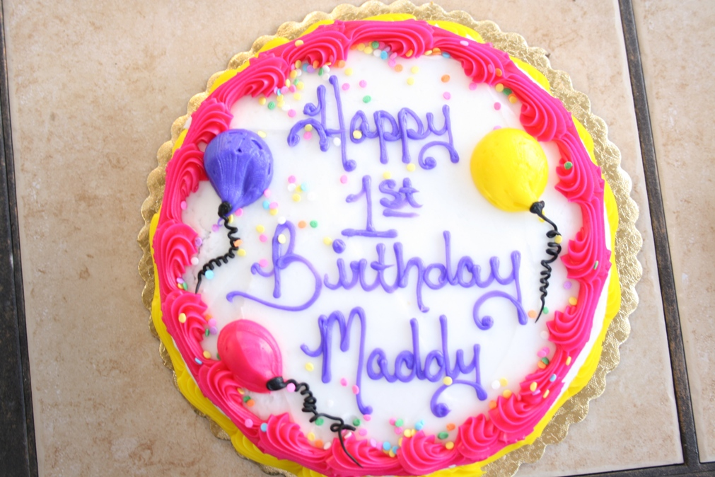 Girls First Birthday Cake Sizzerspedia