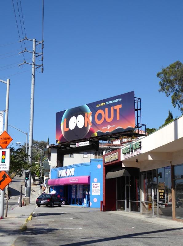 South Park season 19 billboard