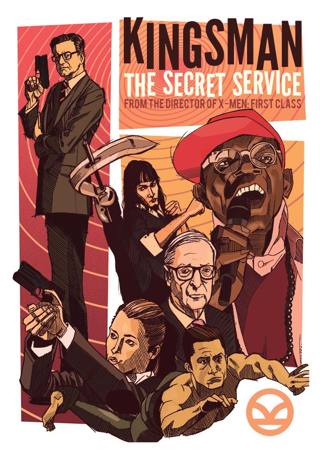 電影白話文: 影評【金牌特務 Kingsman: The Secret Service】- 這不是龐德,不是詹姆士龐德