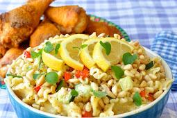Honey Dijon Pasta Salad