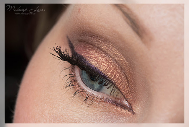 AMU EOTD Urban Decay Glide On Pencil Rockstar ZOEVA Rose Gold Palette