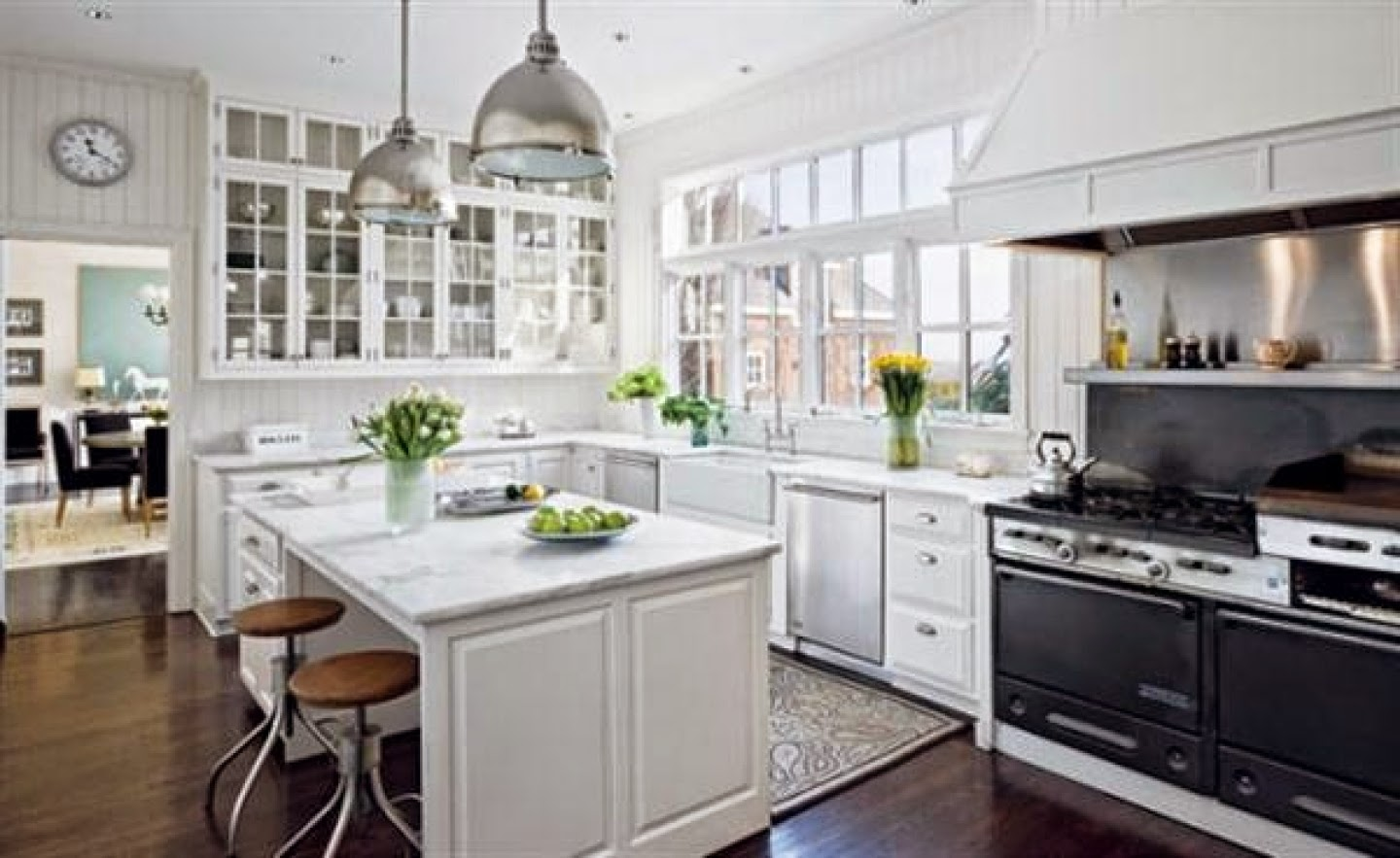 Beauftiful White Kitchens: Always in Style – South Shore Decorating Blog