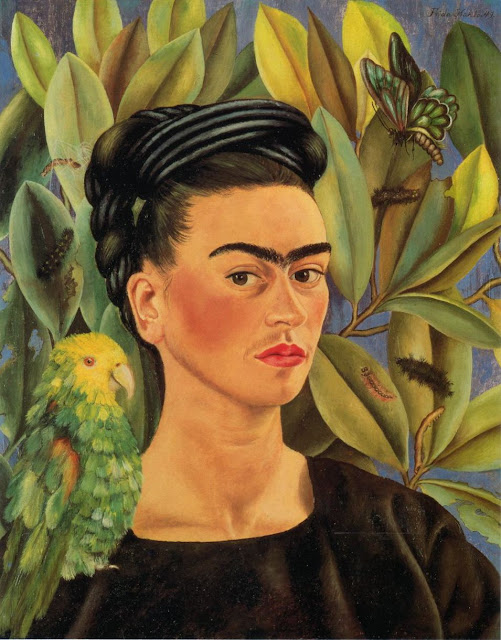 http://1.bp.blogspot.com/-p2Dbp-N8RIs/T86dArNeL2I/AAAAAAAADB0/1vmalbYz9wc/s1600/1941+Frida+Kahlo+(Mexican+artist,+1907-1954)+With+Bonito+Parrot+and+Butterfly.jpg