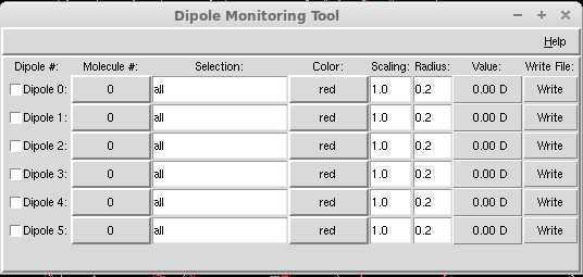 how to find dipole moment of a molecule