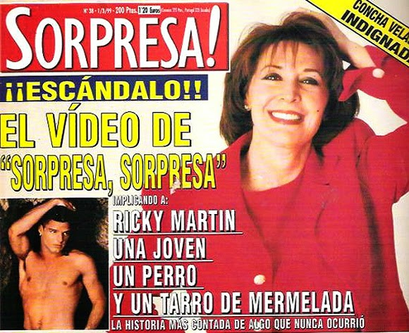 Niña, perro, mermelada, Ricky, Sorpresa sorpresa, Concha Velasco