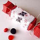 DIY boîte cadeau pour Noël