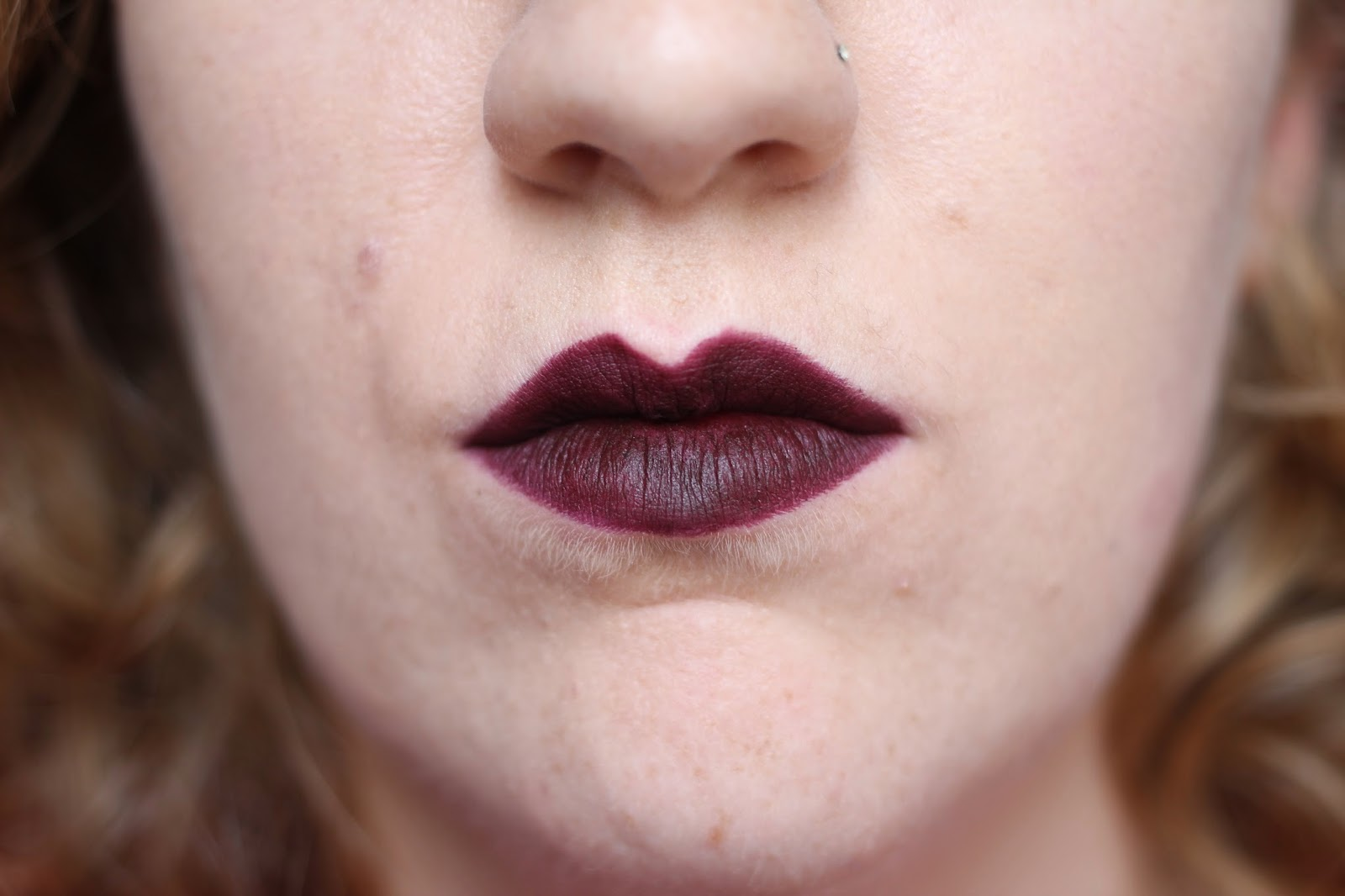 Nars Velvet Matte Lip Pencil Swatch Train Bleu